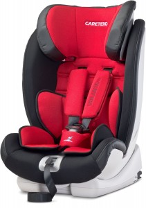 CARETERO Fotelik VOLANTE FIX ISOFIX 9-36 Red
