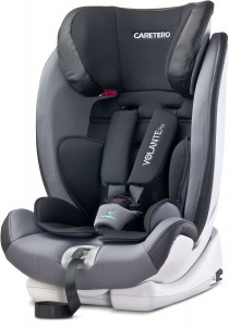 CARETERO Fotelik VOLANTE FIX ISOFIX 9-36 Grey
